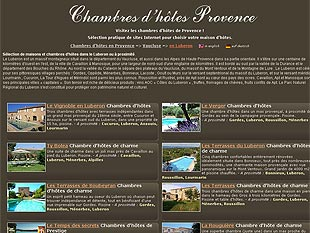 Chambres d'hotes Provence